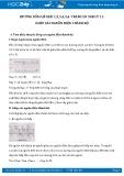 Giải bài tập 1,2,3,4,5,6 trang 58 SGK Vật lý 11