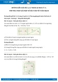 Giải bài tập 1,2,3 trang 62 SGK Vật lý 11
