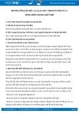 Giải bài tập 1,2,3,5,6,7,8,9 trang 93 SGK Vật lý 11