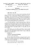 Kế hoạch Hoạt động của Hội đồng Thi đua - Khen thưởng Tỉnh Đồng Tháp năm 2017