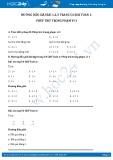 Giải bài tập Phép trừ trong phạm vi 3 SGK Toán 1