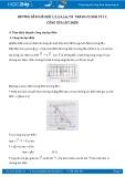 Giải bài tập 1,2,3,4,5,6,7,8 trang 25 SGK Vật lý 11