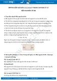 Giải bài tập 1,2,3,4,5,6,7 trang 169 SGK Vật lý 12