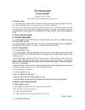 Tiêu chuẩn ngành 10 TCN 310:1998