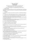 Tiêu chuẩn ngành 10 TCN 492:2002