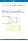 Hướng dẫn giải bài 56,57 trang 31 SGK Đại số 6 tập 2