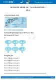 Hướng dẫn giải bài 3,4,5 trang 37 SGK Toán 1