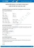 Hướng dẫn giải bài 1,2,3,4 trang 154 SGK Toán 2