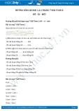 Hướng dẫn giải bài 1,2,3 trang 7 SGK Toán 2
