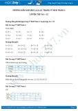 Hướng dẫn giải bài 1,2,3,4,5 trang 37 SGK Toán 2