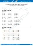 Hướng dẫn giải bài 1,2,3,4 trang 170 SGK Toán 2