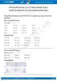 Hướng dẫn giải bài 1,2,3,4,5 trang 180 SGK Toán 2