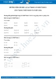 Hướng dẫn giải bài 1,2,3,4 trang 133 SGK Toán 2