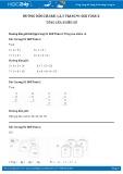 Hướng dẫn giải bài 1,2,3 trang 91 SGK Toán 2