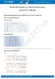 Hướng dẫn giải bài 1,2,3 trang 144 SGK Toán 2