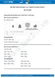 Hướng dẫn giải bài 1,2,3 trang 32 SGK Toán 2
