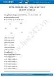 Hướng dẫn giải bài 1,2,3,4 trang 142 SGK Toán 2