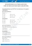 Hướng dẫn giải bài 1,2,3,4,5 trang 166 SGK Toán 2