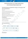 Hướng dẫn giải bài 1,2,3,4,5 trang 168 SGK Toán 2