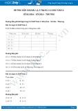 Hướng dẫn giải bài 1,2,3 trang 112 SGK Toán 2