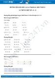 Hướng dẫn giải bài 1,2,3,4 trang 61 SGK Toán 2