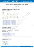 Hướng dẫn giải bài 1,2,3,4 trang 36 SGK Toán 2