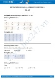 Hướng dẫn giải bài 1,2,3 trang 59 SGK Toán 2