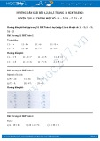 Hướng dẫn giải bài 1,2,3,4,5 trang 51 SGK Toán 2