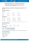 Hướng dẫn giải bài 1,2,3,4,5 trang 22 SGK Toán 2