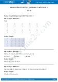 Hướng dẫn giải bài 1,2,3,4 trang 53 SGK Toán 2