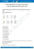 Hướng dẫn giải bài 1,2,3,4 trang 158 SGK Toán 2