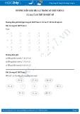 Hướng dẫn giải bài 1,2 trang 65 SGK Toán 2