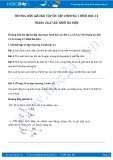 Hướng dẫn giải bài tập 10,11,12 trang 27 SGK Hình học 12