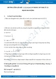 Giải bài tập 1,2,3,4,5,6,7,8 trang 107 SGK Vật lý 12