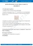 Giải bài tập 1,2,3,4,5,6 trang 115 SGK Vật lý 12