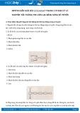 Giải bài tập 1,2,3,4,5,6,7 trang 119 SGK Vật lý 12