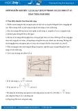 Hướng dẫn giải bài 7,8,9,10 trang 133 SGK Vật lý 12