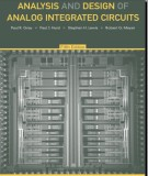 Ebook Analysis and design of analog integrated circuits (4th edition): Part 1