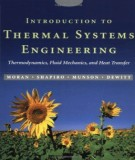 Ebook Introduction to thermal systems engineering - Thermodynamics, fluid mechanics, and heat transfer: Part 1