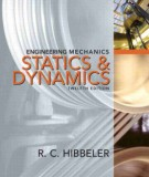 Ebook Engineering mechanics - Statics and dynamics (12th edition): Part 1