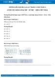 Giải bài tập Luyện tập chung Số bị trừ – Số trừ – Hiệu (tiếp theo) SGK Toán 2