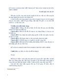 Kỹ năng làm bài thi viết trong kỳ thi nâng ngạch chuyên viên chính - TS. Bùi Quang Xuân
