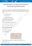 Hướng dẫn giải bài 2,3,4,5 trang 10 SGK Giải tích 12