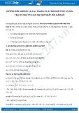 Hướng dẫn giải bài 2,3,4,5 trang 24 SGK Giải tích 12