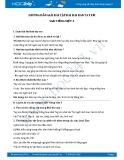 Hướng dẫn giải bài tập bài Hai bàn tay em SGK Tiếng Việt 3