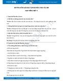 Hướng dẫn giải bài tập bài Mùa thu của em SGK Tiếng Việt 3
