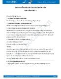 Hướng dẫn giải bài tập Bài tập làm văn SGK Tiếng Việt 3