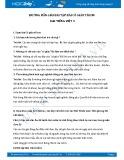 Hướng dẫn giải bài tập bài Cô giáo tí hon SGK Tiếng Việt 3