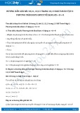 Hướng dẫn giải bài 11,12,13 trang 13 SGK Đại số 8 tập 2