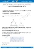 Hướng dẫn giải bài 40 trang 80 SGK Hình học 8 tập 2